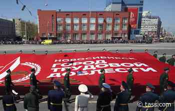 Over 2,000 troops take part in Victory Day Parade in Novosibirsk - TASS