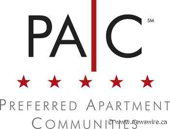 Preferred Apartment Communities, Inc. Reports Results for First Quarter 2021