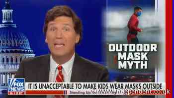 CNN calls on Tucker Carlson to reveal if he's been vaccinated after spreading anti-vaxx attacks