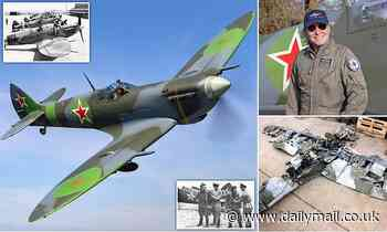 Wrecked in Russia in 1945 after being loaned to the Red Army, Spitfire has £2million makeover