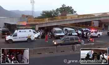 Assassins gun down five peopleincluding two children at restaurant in western Mexico
