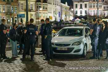 Zeven arrestaties en één mondmaskerboete: politie bleef mild op eerste terrasdag in Gent - Het Nieuwsblad