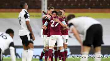 Fulham relegated to Champ after loss to Burnley