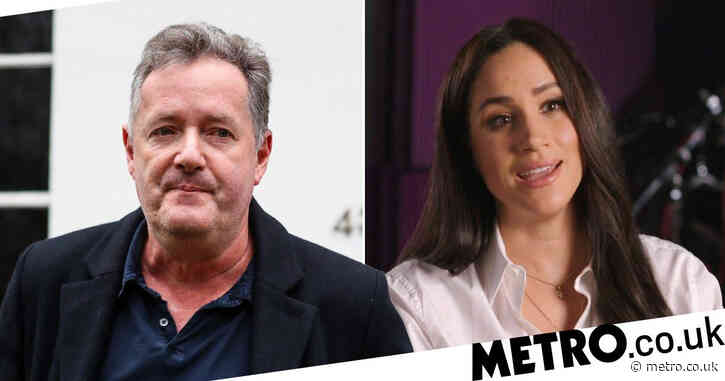 Piers Morgan 'believes in mental illness but not Meghan Markle' as he doubles down on criticism