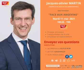 Jacques-Olivier Martin, adjoint au maire d'Angers à la voirie et au stationnement - RCF