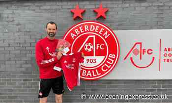 Aberdeen FC donates items to time capsule project - Aberdeen Evening Express