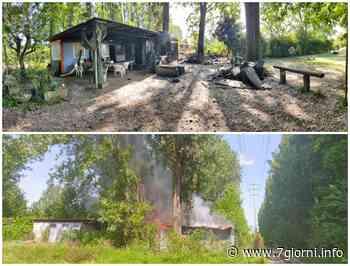 A fuoco il centro sportivo degli arcieri di Peschiera Borromeo, nessun ferito ma ingenti danni, anche a San Bovio un principio di incendio|Video| - 7giorni