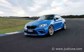 Driving the 2021 BMW M2 CS on Track