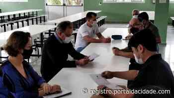 Deputado federal visita Instituto Técnico Federal de Sao Paulo campus Registro - Adilson Cabral