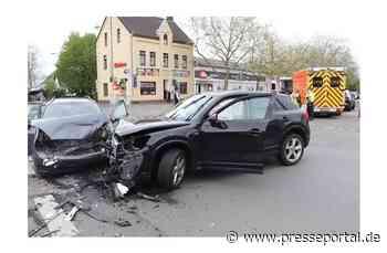 POL-ME: Vier Schwerverletzte nach Verkehrsunfall - Ratingen - 2105048