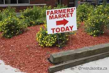 Amherstburg Farmers' Market Kicks Off 2021 Season Saturday | windsoriteDOTca News - windsor ontario's neighbourhood newspaper windsoriteDOTca News - windsoriteDOTca News
