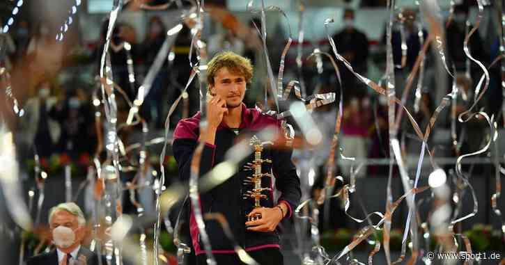 Tennis, ATP: Alexander Zverev gewinnt Madrid-Masters - irritiert von Presse - SPORT1