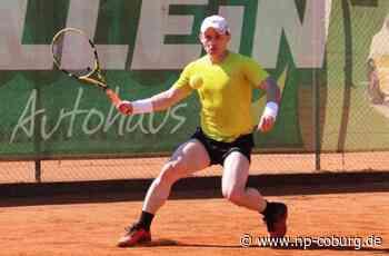 Tennis-Bezirksmeisterschaft - Favorit Wittig siegt - Neue Presse Coburg