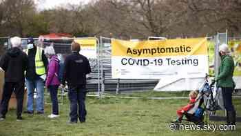 COVID-19: Zero daily coronavirus deaths reported in England, Scotland and Northern Ireland - Sky News