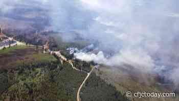 Quiet Weekend for Wildfires - CFJC Today Kamloops
