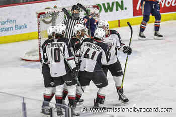 VIDEO: Vancouver Giants drop 3-1 decision to Kamloops – Mission City Record - Mission City Record