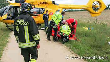 Cavallo imbizzarrito si schianta contro un'auto, ragazza sbalzata di sella: è grave - BresciaToday