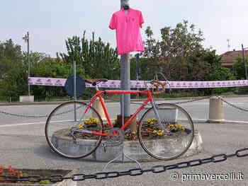 Tanta gente a Tricerro e Borgo Vercelli per la corsa rosa - Prima Vercelli