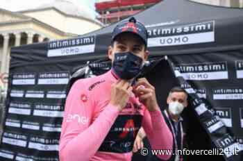 Giro: a Novara vince Tim Merlier, Ganna rimane in Rosa. E Vercelli sogna un arrivo di tappa - InfoVercelli24.it