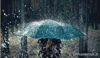 Allerta meteo: piogge intense in arrivo - Prima Vercelli