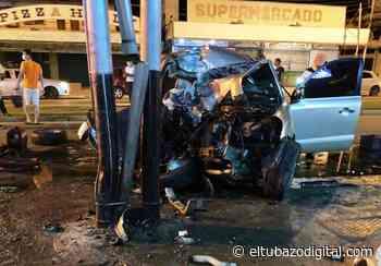 Aparatoso accidente conmocionó a Valle de la Pascua +FOTOS - El Tubazo Digital
