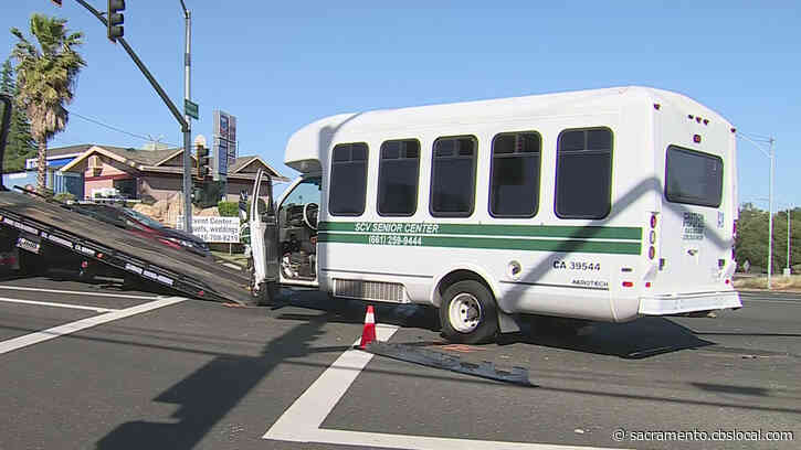 Woman Driving Shuttle Arrested After Chase, Crash In Placer County