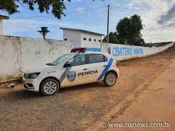 Polícia investiga furto em Cemitério de Jaru - ROLNEWS