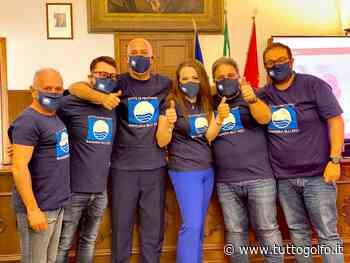 Minturno conquista la bandiera blu. Il sogno diventa realtà » Tuttogolfo - Tutto Golfo