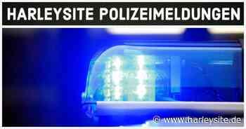 Heldrungen / Nordhausen Verkehrsunfall zwischen einer Harley-Davidson und einem VW - HARLEYSITE.DE - Harleysite