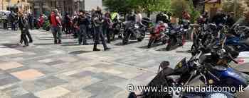 Canzo, il rombo delle moto per l'addio ad Andrea Colombo - La Provincia di Como