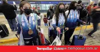 De oro: llegaron las campeonas a Río Gallegos - Tiempo Sur