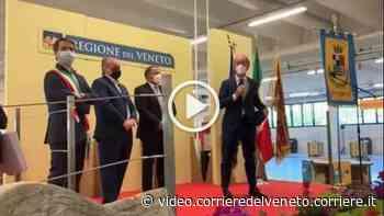 Villorba, Zaia inaugura il supercentro vaccinale Video - Corriere della Sera