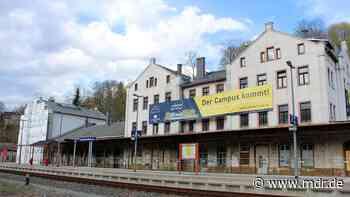 Umbau des Bahnhofs in Annaberg-Buchholz kommt voran - MDR