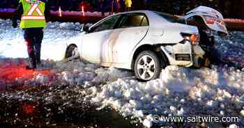 Two separate collisions closes Peacekeepers Way near Conception Bay South on Sunday night   Saltwire - SaltWire Network