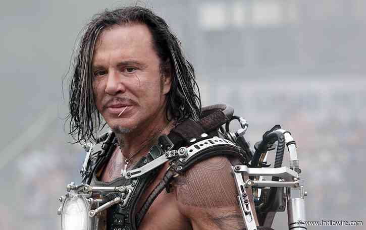 Mickey Rourke Prefers 'Real Acting' Over 'That Crap' Acting in Marvel Movies - IndieWire