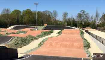 Yvelines. La nouvelle piste de BMX à Montigny-le-Bretonneux est prête pour le grand saut - actu.fr