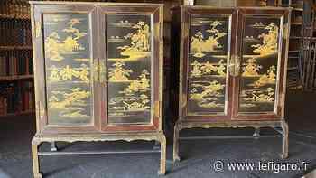 Chantilly retrouve ses cabinets volés en 1975 - Le Figaro