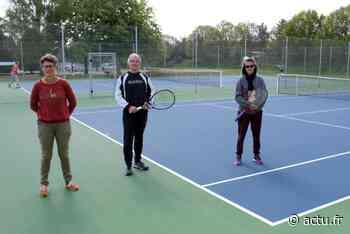 Le club de tennis d'Ifs maintient ses cours malgré les contraintes - Sport à Caen
