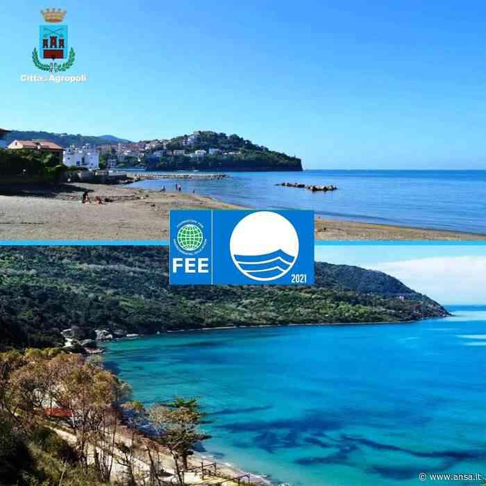 Per le spiagge di Agropoli 22esima Bandiera Blu consecutiva - Agenzia ANSA