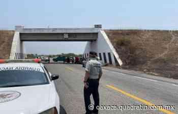 Bloquean carreteras en el Istmo de Tehuantepec 15:04 26 Abr 2021 Con los dos bloqueos - Quadratín Oaxaca