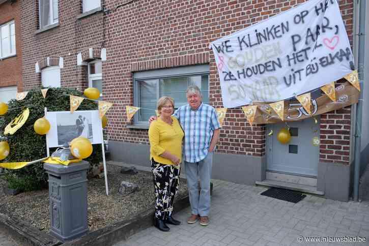 Gouden jubileum tijdens corona? Filip (73) en Eveline (71) laten het niet aan hun hart komen