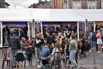 Na overrompeling Tielts jongerenterras: bezoekers alleen nog... (Tielt) - Het Nieuwsblad