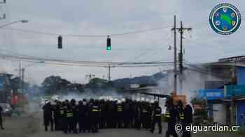 Policía paró bloqueos en Quepos, Sarapiquí y Pital - El Guardián CR