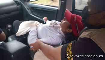 Mujer habitante de Baraya fue auxiliada por soldados desminadores - Huila