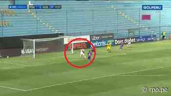 ¡Estaba solo! Alexis Cossio perdió dos goles increíbles en apenas dos minutos en Municipal vs. Alianza Universidad - RPP Noticias
