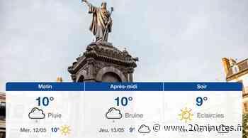 Météo Clermont-Ferrand: Prévisions du mardi 11 mai 2021 - 20minutes.fr