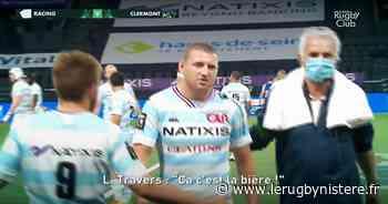 Le Racing 92 humilie Clermont et Laurent Travers chambre Russell [VIDÉO] - Le Rugbynistère