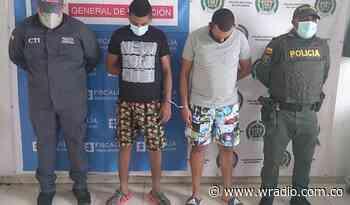 Asegurados presuntos responsables de hurto a una pareja en Cereté, Córdoba - W Radio
