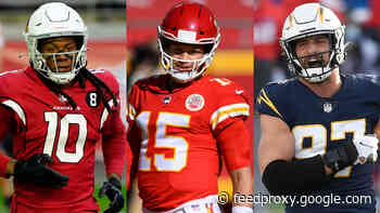 2021 NFL All-Paid Team: Patrick Mahomes, DeAndre Hopkins, Joey Bosa top the marquee