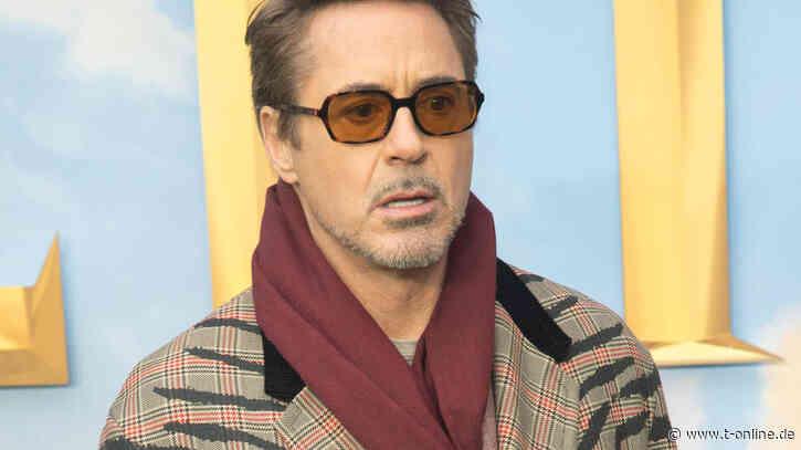 Robert Downey Jr.'s Assistent stirbt bei Autounfall - t-online.de